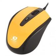 Mouse seria Pastel 3300, 1600dpi, negru / galben