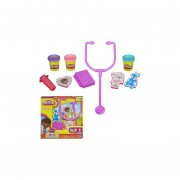 Play-Doh Kit De Medico De La Doctora Juguete De Hasbro Purpura
