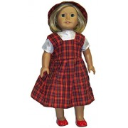 Doll Clothes School Uniform fits 18 Inch Girl Dolls