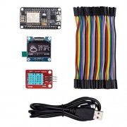 ESP8266 IoT Starter Kit with OLED display for Arduino IDE - Weather Station - Plane Spotter - World Clock