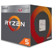AMD Ryzen 5 2400G Processor, 3,6GHz (3,9GHz Turbo Boost)