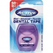 Active Oral Care Advanced Mint Fluoride Dental Tape 50 m Tandtråd