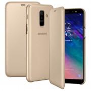 Capa Flip para Samsung Galaxy A6+ (2018) EF-WA605CFEGWW - Dourado