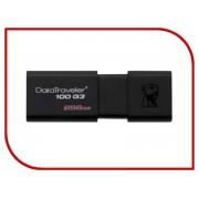 USB Flash Drive 256Gb - Kingston FlashDrive Data Traveler 100 G3 DT100G3/256GB