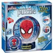 Puzzle 3D Luminos Spiderman 108 Piese.Puzzle taiate si indoite in mod diferit