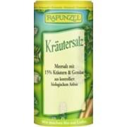 Sare de Condimentat cu 15% Ierburi si Legume Bio Rapunzel 125gr