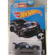 BMW Z4 M Motorsport Hot Wheels 2016 BMW Series Blue 1:64 Scale Collectible Die Cast Metal Toy Car Model #3/5