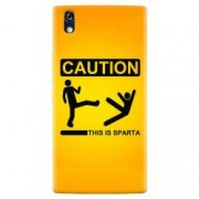 Husa silicon pentru Allview X2 Soul Style This Is Sparta Funny Illustration