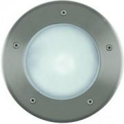 Talajba építhető kültéri lámpa PL 1x15W E27 kerek nemesacél Riga3 86189 Eglo