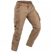 Forclaz Pantalon cargo de trek voyage - TRAVEL 100 marron homme - Forclaz - 38