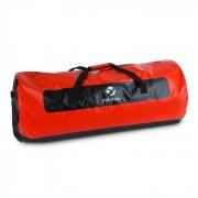 Yukatana Quintoni 120 Seesack Sporttasche 120 Liter wasserdicht schwarz/rot