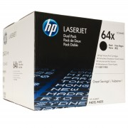 Консуматив HP 64X Black Dual Pack LaserJet Toner Cartridges