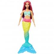 Barbie Muñeca Sirena Top Azul Mattel
