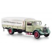 Macheta 1:18 Mercedes-Benz LO 2750 Platform Truck copertina, 1933