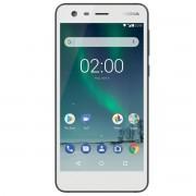 "Telefon mobil NOKIA 2 Dual Sim, Pewter White, 5.0"", RAM 1GB, Stocare 8GB"