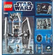 Game / Play Lego Star Wars Tie Fighter 9492, Features Tie Fighter And 1 Weapon, Battle The 9493 X Wing Toy / Child / Kid