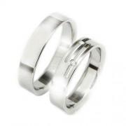 Snubní ocelové prsteny TBR14BR15