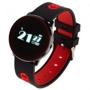 GARETT Smartwatch Sport 14 Czarno-czerwony