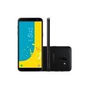 Smartphone Samsung Galaxy J6, Câmera 13MP, 32GB, Octa-Core, TV Digital, Dual Chip, Preto - SM-J600G