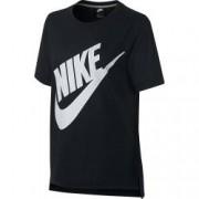 Tricou femei Nike NSW TOP SS PREP FUTURA negru S