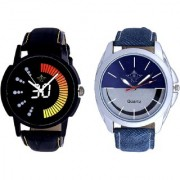 Smile Blue Black With Speed 30 Lightning Class SCK Combo Gallery Wrist Watch