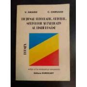 Dictionar Ortografic Ortoepic Morfologic Si Explicativ Al Limbii Romane - V. Amarie C. Chirvase