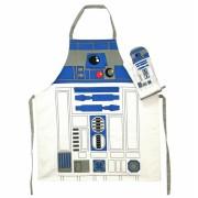 R2-D2 schort en ovenwant (in glazen pot) Star Wars