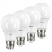 AIRAM Airam LED Normal E27, 9,5W 4-pack 4711735 Replace: N/A