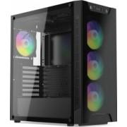 Carcasa SilentiumPC Armis AR6X EVO TG ARGB Middle Tower E-ATX fara sursa black