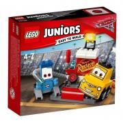 Lego juniors il pit stop di guido e luigi