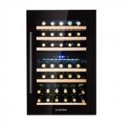 Klarstein Vinsider 35D Onyx Edition, вграден хладилник за вино, енергиен клас С (HEA3-Vinsider35Onyx)