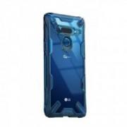 Carcasa Ringke Fusion X LG G8 ThinQ Space Blue