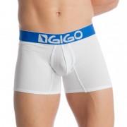 Gigo TREKKING WHITE BLUE Long Boxer Underwear G04113