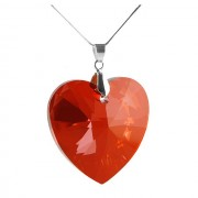 Colier Borealy 40 mm Red Heart