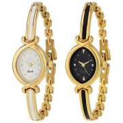 R P S fashion new looked fancy girl combo pack of 2 watch 6 month warranty