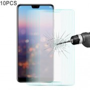 10 PCS ENKAY Hat-Prince Huawei P20 0.26mm 9H Hardness 2.5D Curved Edge Tempered Glass Screen Film