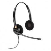 Casca Call Center Plantronics EncorePro 89434-02, Duo, Microfon Noice Canceling (Negru)
