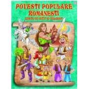 Povesti populare romanesti. Carte de citit si colorat