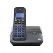 Telefone Sem Fio Com Identificador de Chamada e Viva Voz MOTO4000 Preto - Motorola