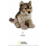 Jucarie Plus Venturelli - National Geographic Lup 25 Cm - AV770758