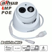 Dahua 4MP IP Camera h.265 PoE Built-in mic IPC-HDW4431C-A IR security cctv Dome Camera onvif HDW4431C-A English firmware