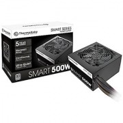 Thermaltake SMART 500W Continuous Power ATX 12V V2.3 / EPS 12V 80 PLUS Active PFC Power Supply PS-SPD-0500NPCWUS-W