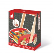 Jouets D'eveil Chariot Abc Buggy Tatoo - 30 Cubes (Bois)