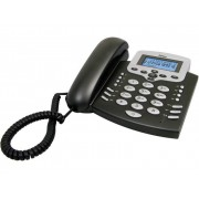 Profoon TX-650 Fast telefon analog Handsfree, Återuppringning Belyst display Svart