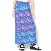 Juana de Arco VIAJE マキシ丈のタイトスカート【ライチ/ライチ レディス スカート ブルー ルミネ LUMINE】