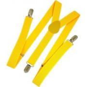 Kidofash Y- Back Suspenders for Men, Women(Yellow)