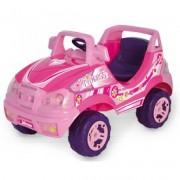 Elektromos terepjáró - rózsaszín, 6V, bébiautó - Járművek