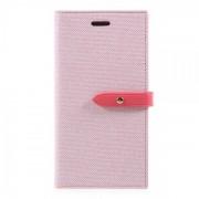 Mercury Pouzdro / kryt pro iPhone XS / X - Mercury, Milano Diary PINK/PINK