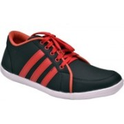 Fentacia Rock Casual Shoes For Men(Black, Red)