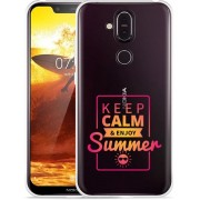 Nokia 8.1 Hoesje Summer Time